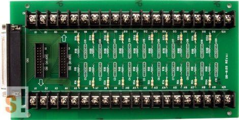 DB-8125 CR # Külső sorkapocs kártya/PCI-1802 multi I/O kártyához/CA-3710 kábel/ ICP CON, ICP DAS