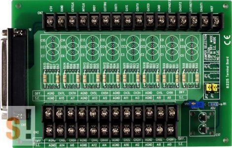 DB-8225/DIN # Bővítő sorkapocs kártya PCI-1800-hoz/CA-3710 kábel/1 méter/DIN sínre rögzíthető/ICP CON, ICP DAS