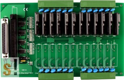 DB12SSR # Opto 22 kompatibilis SSR relé kártya/ Solid State Relay Board/12 Ch/CA-5015, ICP CON, ICP DAS