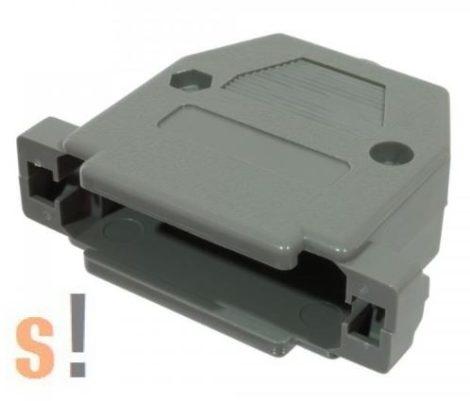 DB25-haz #SUB-D25/ DB25 csatlakozó ház/ műanyag
