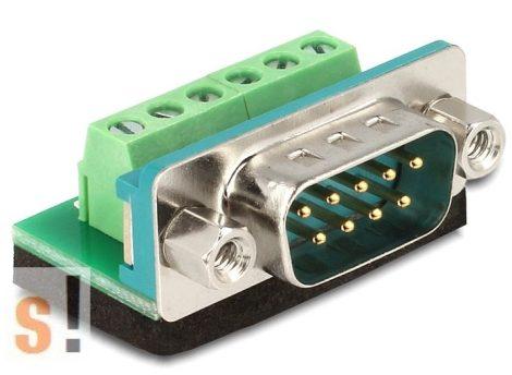 DE65499 # DB9/SUB-D9 papa - sorkapocs adapter, DELOCK