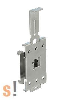 DE66332 # Rögzítő elem DIN sínre/35 mm sínhez/ Fém/DELOCK