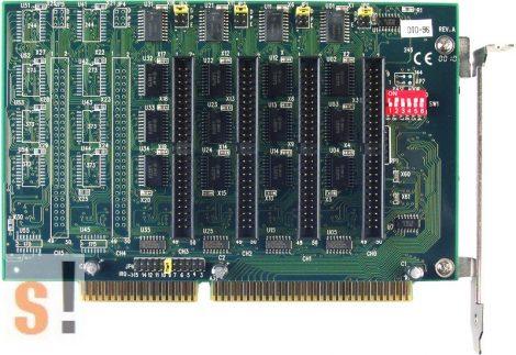 DIO-96 # 96-ch OPTO-22 DIO kártya/ISA/96x DI/96x DO/OPTO-22 ICP DAS