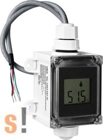 DL-100T485-W # Adatgyűjtő/Data Logger/DCON/Hőmérséklet/Páratartalom/RS-485/LCD/IP 66/fehér/ICP CON, ICP DAS