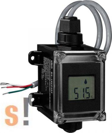 DL-100T485 # Adatgyűjtő/Data Logger/DCON/Hőmérséklet/Páratartalom/RS-485/LCD/IP 66, ICP DAS
