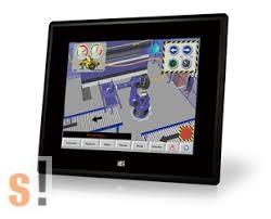 "DM-F08A/R-R10 # 8"" érintőképernyős ipari monitor/500cd/SVGA/Touch/IEi"
