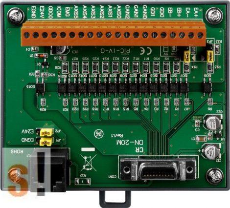 DN-20M CR # Manual-Pulsar-Generator (MPG) és FRnet bemeneti kártya /PISO-PS600/VS600/PMDK ICP DAS kártyákhoz/DIN sínre rögzíthető/ICP CON, ICP DAS