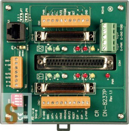 DN-8237PB CR # Bővítő kártya/Daughter Board/PISO-PS200 vagy Panasonic MINAS A4/A5/A6 servo amplifier-hez/vezetékező kártya/snap on/DIN sínre rögzíthető/ICP CON, ICP DAS