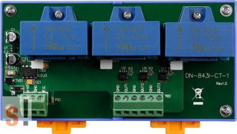 DN-843I-CT-1 # Áramváltó modul/Bemenet/AC/DC/±1 Amper/3 Ch, ICP DAS