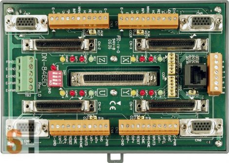 DN-8468DB CR # Bővítő kártya/Daughter Board/PISO-PS400 vagy Delta ASDA A2, ASDA B2 servo amplifier-hez/vezetékező kártya/snap on/DIN sínre rögzíthető/ICP CON, ICP DAS