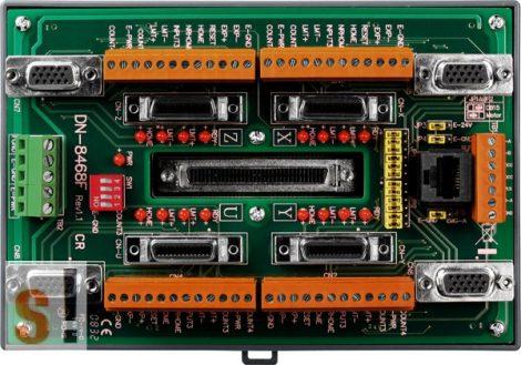DN-8468FB CR # Bővítő kártya/Daughter Board/PISO-PS400 vagy FUJI  FALDIC-W és ALPHA5 Smart servo amplifier-hez/vezetékező kártya/snap on/DIN sínre rögzíthető/ICP CON, ICP DAS
