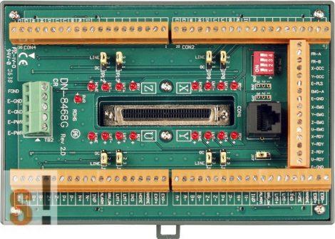 DN-8468GB CR # Bővítő kártya/Daughter Board/PISO-PS400 vagy Általános Smart servo amplifier-hez/vezetékező kártya/snap on/DIN sínre rögzíthető/ICP CON, ICP DAS