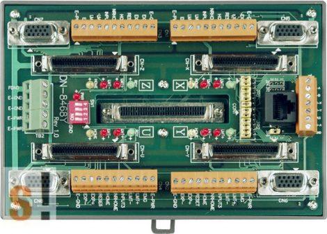 DN-8468YB CR # Bővítő kártya/Daughter Board/PISO-PS400 vagy Yaskawa Sigma II/III/V/7 sorozatú servo amplifier-hez/vezetékező kártya/snap on/DIN sínre rögzíthető/ICP CON, ICP DAS