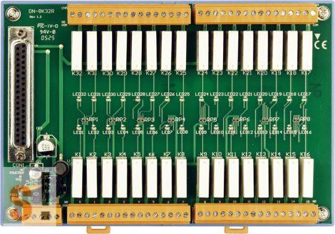 DN-8K32R CR # Relé kimenet kártya/32x RO relékimenet/CA-3705A kábel/ICP CON, ICP DAS
