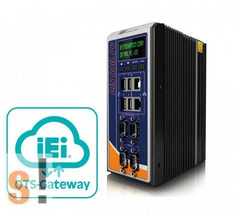 DRPC-120-BTi-E5-OLED/2G-R10 # Ipari PC DIN sínre/Intel® Bay-Trail E3845 1.91 GHz/TDP 10W/2GB DDR3L memória/ 1 x VGA/1 x HDMI/ 8 CH DIO/iRIS-2400 opcionalis/9 V~30 V DC/OLED kijelző/IEI