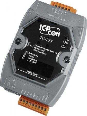 DS-715 # Soros-Ethernet konverter, 1x RS-422/485 port, ICP DAS