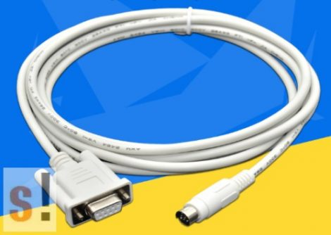 DVPACAB215 # DELTA PLC programzó kábel/DVPCAB215 DVP ES/EX/EH/EC/SE/SV/SS/DB9 mama/ DOP-DVP/Mini-DIN8/3 méter NONAME
