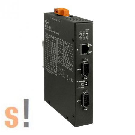 ECAN-240 # Modbus TCP - CAN átjáró, 2 port, ICP DAS