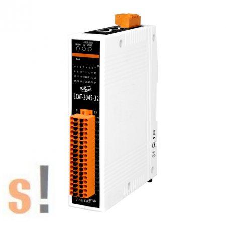 ECAT-2045-32 # I/O Modul/EtherCAT/Slave/32DO/Sink, szigetelt, ICP DAS