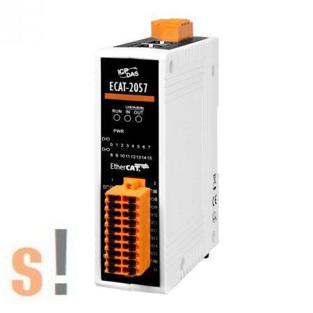 ECAT-2057-8P8N # I/O Modul/EtherCAT/Slave/16DO/8-Source/8-Sink, szigetelt, ICP DAS