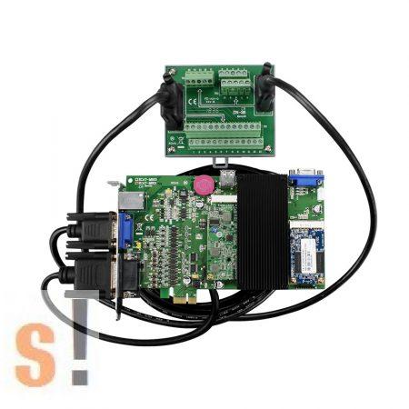 ECAT-M801-8AX/S CR # EtherCAT kártya/8 axis/2 axis encoder/13x DIO/DN-26-sorkapocs-es-kábelek/ICP CON/ICP DAS