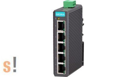EDS-205 # Ethernet switch/5 port/ 10/100BaseT(X)/ Belépő szint/Nem menedzselt, MOXA