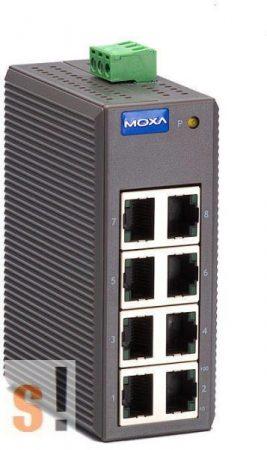 EDS-208 # Ethernet switch/8 port/ 10/100BaseT(X)/ Belépő szint/Nem menedzselt, MOXA
