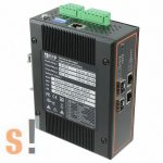 EHG7504-2POE-2SFP # 4 portos ipari PoE Ethernet switch/ 10/100/1000/2x SFP port / PROFINET/Ethernet IP, ATOP