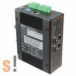 EHG7504-2SFP # 4 portos ipari Ethernet switch/ 10/100/1000/2x SFP port / PROFINET/Ethernet IP, ATOP