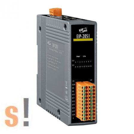 EIP-2051 # I/O Modul/EtherNet/IP/16DI szigetelt, ICP DAS