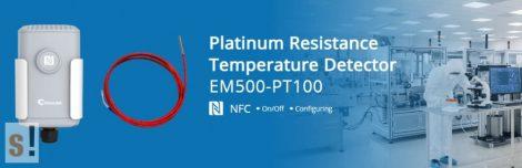 EM500-PT100-T800 # LoRaWAN IP68 PT100 hőmérséklet szenzor/50-800 C/1 méter/URSALINK