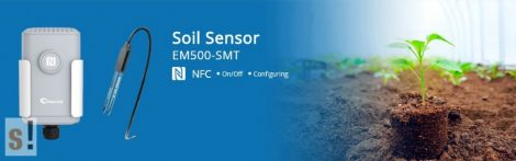 EM500-SMT-EC5 # LoRaWAN IP68 talajnedvesség és hőmérséklet érzékelő szenzor/URSALINK