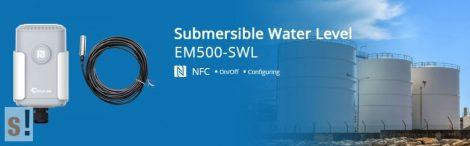 EM500-SWL-L003 # LoRaWAN IP68 vízszint érzékelő szenzor/0-200 méter H2O/3 m/URSALINK