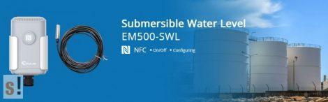 EM500-SWL-L010 # LoRaWAN IP68 vízszint érzékelő szenzor/0-200 méter H2O/10 m/URSALINK