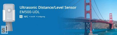 EM500-UDL-W100 # LoRaWAN IP68  ultrahangos távolság mérő szenzor/Ultrasonic distance level sensor/10 m/URSALINK