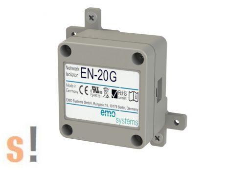 EN-20G # Ethernet leválasztó, 4 kV, 10/100/1000, medikai