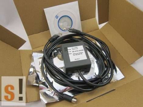 ES-ETH-SC09 # Ethernet adapter MITSUBISHI FX PLC-hez/RJ45/RS-422