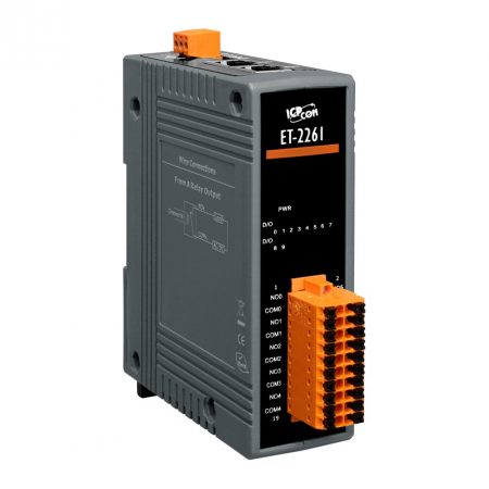 ET-2261 # Ethernet I/O Module/Modbus TCP/10 Relay Output, ICP DAS