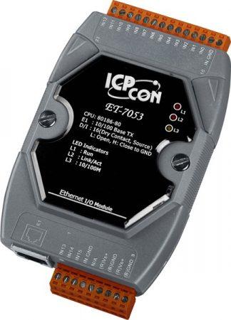 ET-7053 # Ethernet I/O Module/Modbus TCP/16 DI, ICP DAS