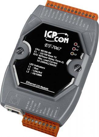 ET-7067 # Ethernet I/O Module/Modbus TCP/8Relay Output, ICP DAS
