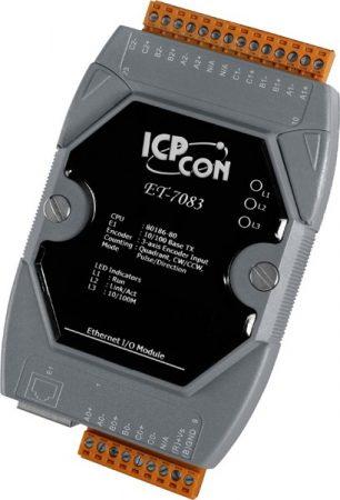ET-7083 # Ethernet I/O Module/Modbus TCP/3-axis Encoder, ICP DAS