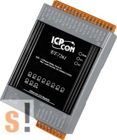 ET-7261 # Ethernet I/O Modul/Modbus TCP/11x Relay Out/2x LAN switch, ICP DAS