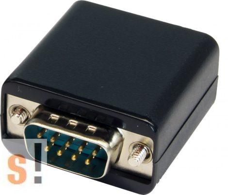 EX-47955 # RS-232 soros hosszabbító/ 50 méterig CAT 5 vagy CAT6 kábellel/EXSYS