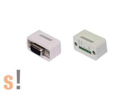 EX-47995 # Soros RS-232 - RS-422/485 konverter/DB9 mama csatlakozó/Sorkapocs, EXSYS
