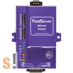FS-ROUTER-BAC # BACnet Router/2x RS-485 port/szigetelt/BACnet/IP/Ethernet port/10/100BaseT/MDIX/DHCP/64 BACnet készülék kezelése, SMC