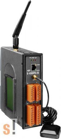 G-4500PD-2G # M2M Controller/GSM/GPS/8x AI/3x DI/3x DO/Quad-band/LCD, ICP DAS