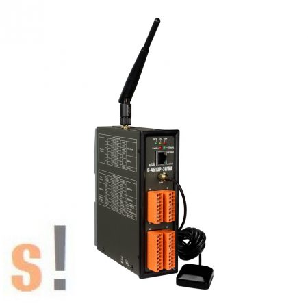 G-4513P-3GWA # M2M Controller/8x AI/3x DI/3x DO/3G/GPS/WCDMA/Solar, ICPDAS