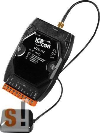 GPS-721 # GPS Vevő/Receiver/1x DO/1x PPS kimenet, ICP DAS