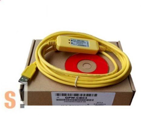 GPW-CB03 # Pro-face programozó kábel/USB portos