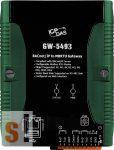GW-5493 CR # Átjáró/Gateway/BACnetIP - ModbusTCP Client/ RS232/Ethernet, ICP DAS